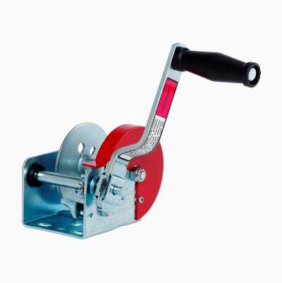 TRAILERWINCH 350KG 3,2:1 BAND