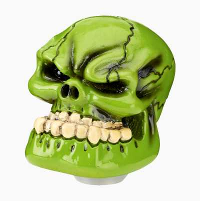 SHIFT KNOB SKULL GREEN