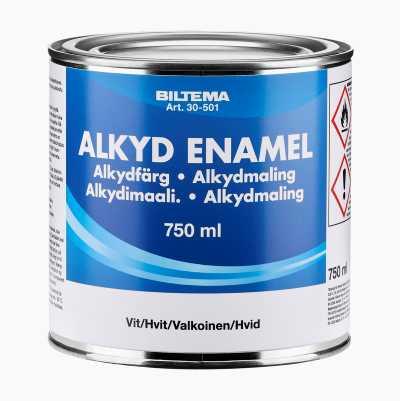 ALKYDMALING HVIT 0,75 L
