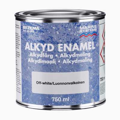 ALKYDFÄRG OFF-WHITE 0,75L