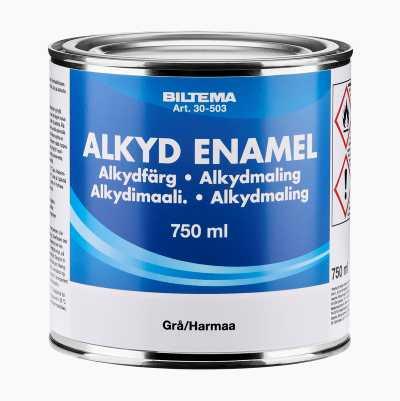 ALKYDFÄRG GRÅ 0,75L