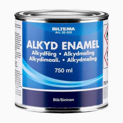 ALKYDMALING BLÅ 0,75L