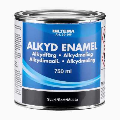 ALKYDMALING SORT 0,75L