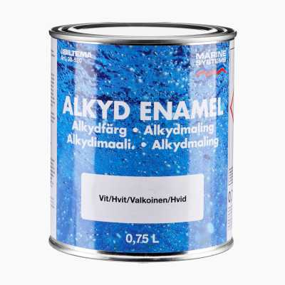 ALKYL ENAMEL WHITE 0,75L