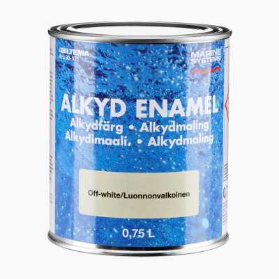 ALKYL ENAMEL OFF-WHITE 0,75L