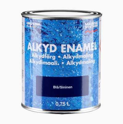 ALKYDFÄRG BLÅ 0,75L