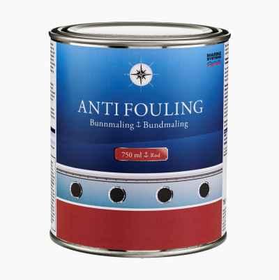 ANTIFOULING RED 0,75L NO/DK