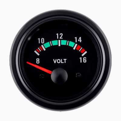 BLACK GAUGE VOLT