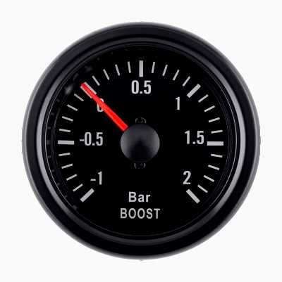 BLACK GAUGE BOOST