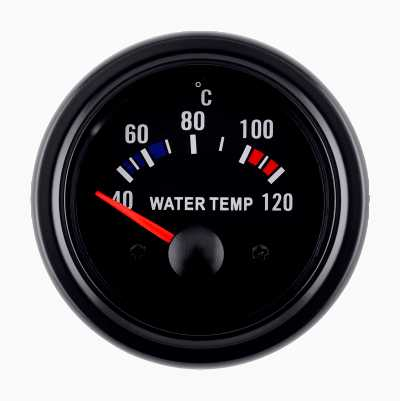 BLACK GAUGE WATER TEMP