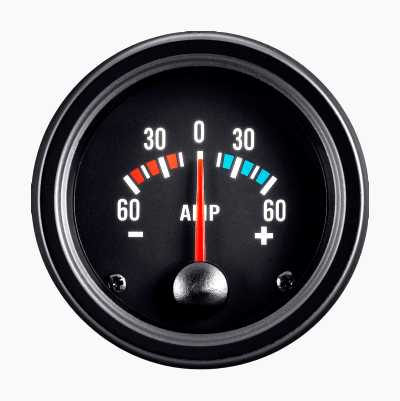 BLACK GAUGE AMPERE