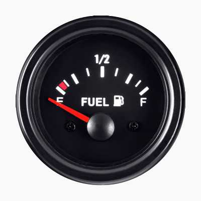 BLACK GUAGE FUEL