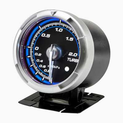 GAUGE 60 MM BLUE BOOST