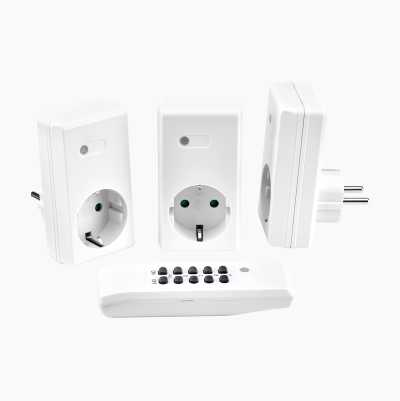 REMOTECONTROLLED OUTLETS 3600W