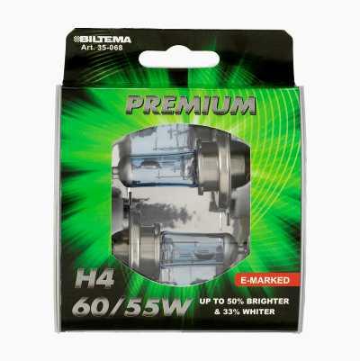 H4 12V 60/55W PREMIUM ECER37 2