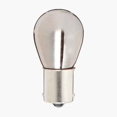 BULB 12V 21W CHROME BAU15S 2PC