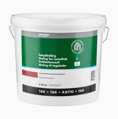 METAL ROOF PAINT RED 5L