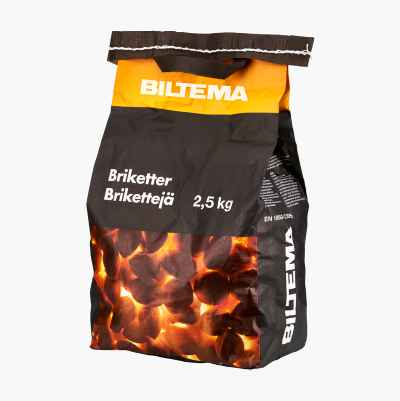BRICKETTS 2,5 KGS