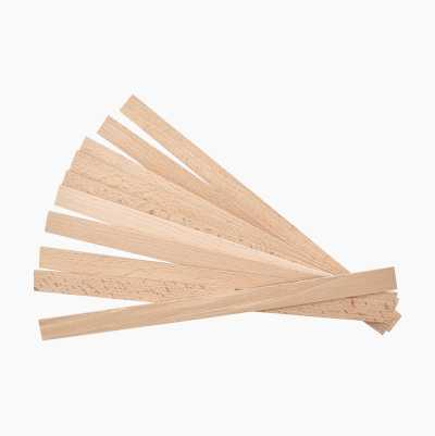 WOOD SPATULA 10-PACK