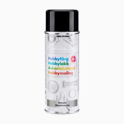 HOBBY METALLIC BLACK 400ML