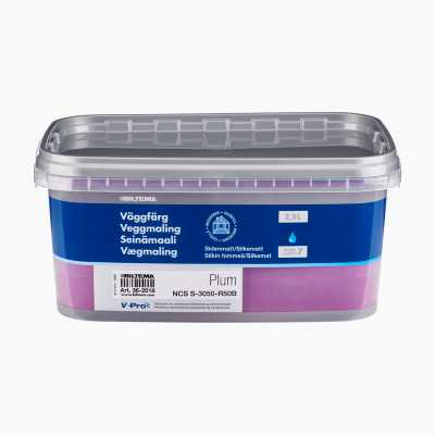 WALLPAINT  2,5L PLUM
