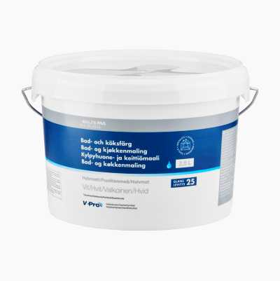 BATH&KITCHEN PAINT WHITE 2,5L