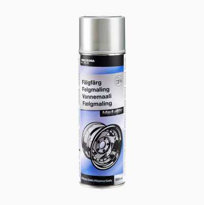 SILVER METALLIC WHEEL SPRAY