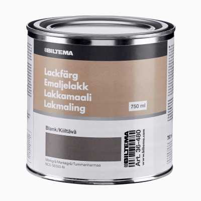 ENAMEL PAINT 0.75L,DARK GREY