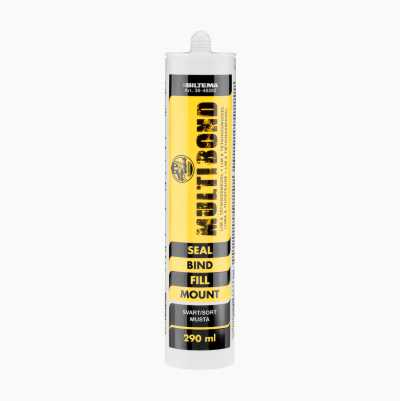 BT MULTIBOND7  SVART  290ML.