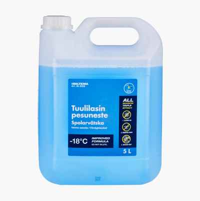 WINDSHIELD WASHER MIXED -18 4L