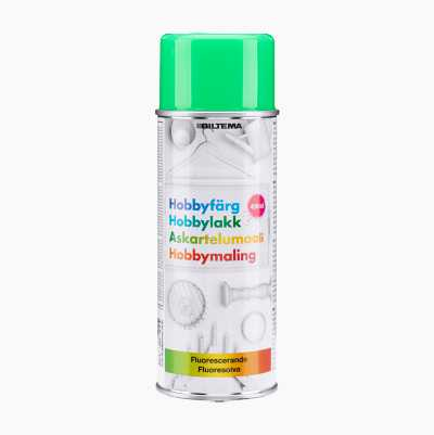 HOBBY FLUORESCENT GREEN 400ML