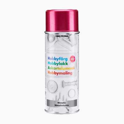 HOBBYPAINT PINK METALLIC 400ML