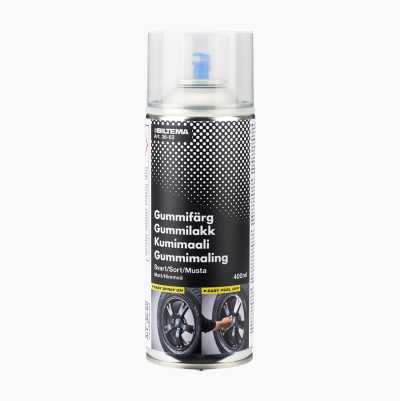 GUMMIFÄRG SPRAY GUNMETAL 400ML