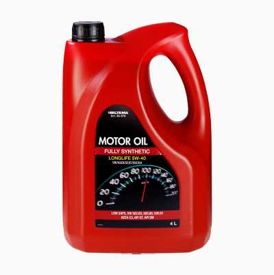 MOTOR OIL SYNT 5W-40 VW  4L