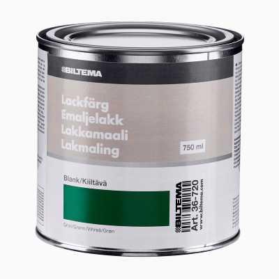 EMALJELAKK 0.75L GRØNN BLANK