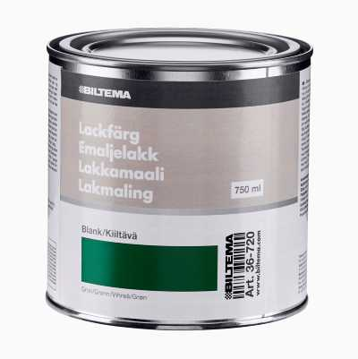 ENAMEL PAINT 0.75,GREEN GLOSSY