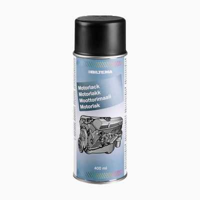 ENGINE PAINT BLACK MATT 400ML