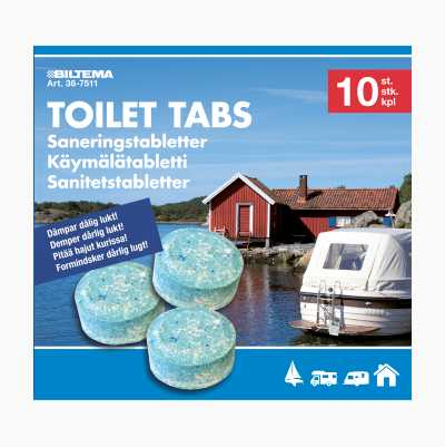 TABS FOR PORTABLE TOILET 10ST