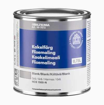 KAKELFÄRG GRÅ 0,75 L