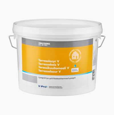 OUTDOOR STAIN L.GREY 2,5L W.