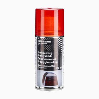 SPRAY PAINT TRANSP RED 150ML