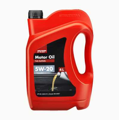 MOTOR OIL 5W-20 API, 4L