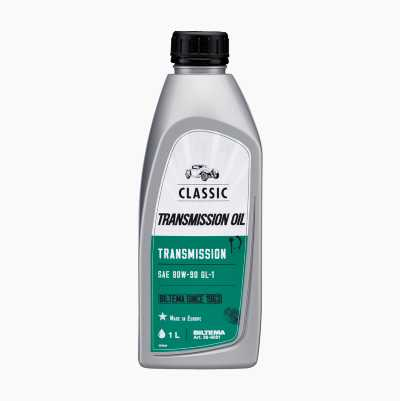 TRANSMISSION OIL SAE 80-90W GL