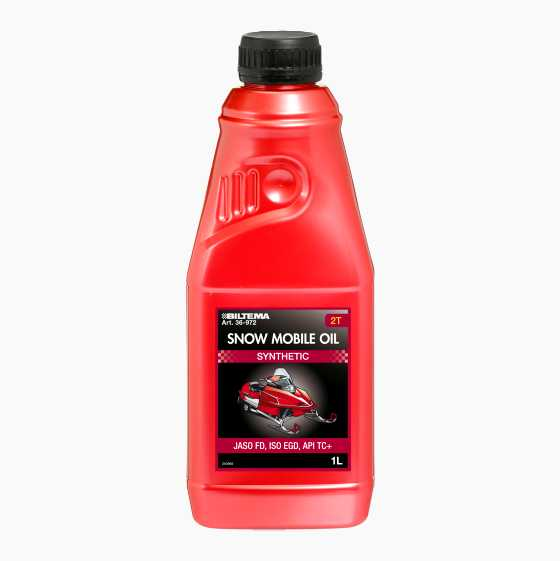 SNOWMOBILE OIL 1L