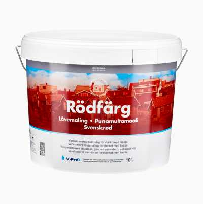RED PAINT 10L