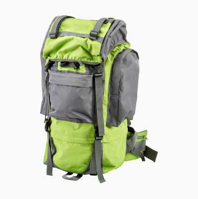 BACKPACK 65L GREEN/GREY