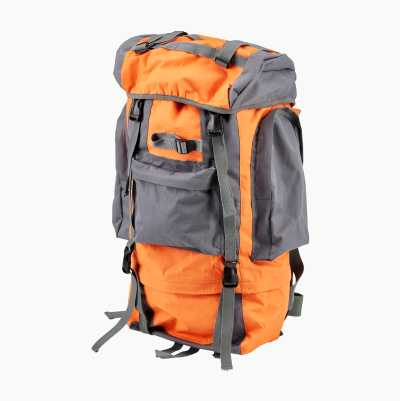 BACKPACK 65L ORANGE/GREY
