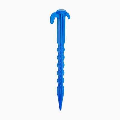 TENT PEGS BLUE, 20CM, 10PCS
