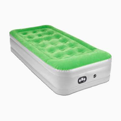 AIR BED ELECTRIC SINGLE GREEN6