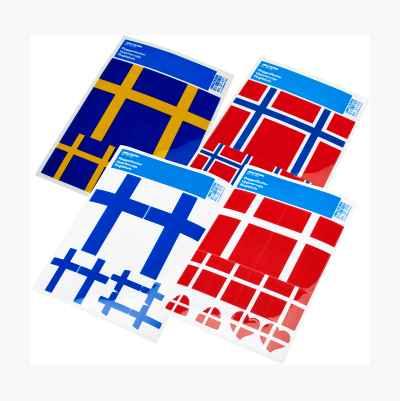 FLAGGETIKETTER SVERIGE